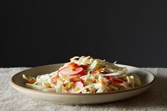 Pancetta Slaw with Chili-Lime Vinaigrette , a recipe on Food52
