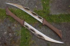 Tauriel Woodland Elf Prop Dolche für Cosplay von CoregeekCreations (Diy Clothes For Men)