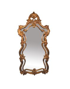 Hollywood Regency -  MIRROR.I love most things Hollywood Regency. Gold will never be out of style at my house!