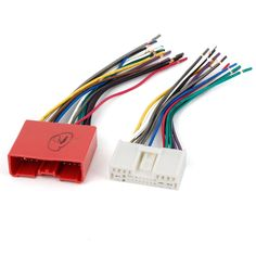 uxcell 2 Pcs Car Van Stereo Female Male Wiring Harness. Product Name: Wiring Harness; Material: Plastic,Metal. Color: Mutilcolor. Package Content: 2 x Wiring Harness. Dimension: 50 x 42 x 17mm/ 2.0 x 1.7 x 0.7 inches(L*W*H),46 x 25 x 15mm/ 1.8 x 1.0 x 0.6 inches(L*W*H). Wire Length: 15cm/ 5.9 inches.