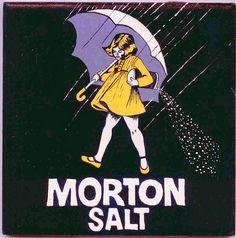 Morton Salt girl