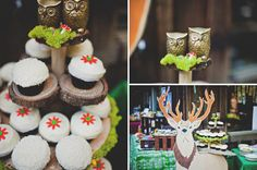 Whimsical Wedding in the Woods    repin, Share, Like Thanks !