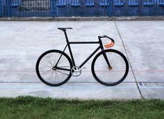 Black orange track Mielec