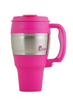 ShopBubba.com - bubba 34 oz travel mug classic pink, $10.98 (http://www.shopbubba.com/shop-all/mugs/bubba-34-oz-travel-mug-classic-pink/)