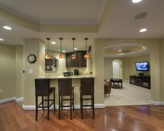 Spaces Basement Bar Design, Pictures, Remodel, Decor and Ideas - page 7