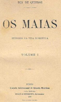 Eça de Queirós - Os Maias, 1888