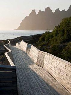 Ny internasjonal arkitekturpris til Norske turistveier - Nordland - NRK Nyheter