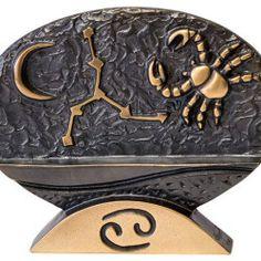 """Sternzeichen-Skulptur """"Krebs"""" aus Bronze von Bernardo Esposto - Hannover - Skulpturen › Kunstplaza"""