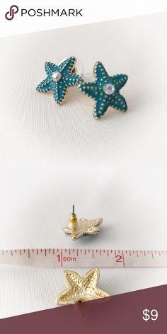 Starfish Stud Earrings *New* New, no tag. Cute! Jewelry Earrings