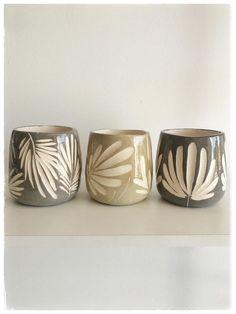 Ceramic Pottery, Pottery Art, Ceramica Artistica Ideas, Ceramics Projects, Ceramic Painting, Clay Art, Stoneware, Plates, Mugs