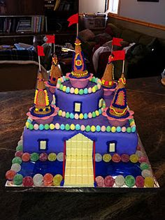 Mackenzie's castle cake