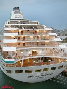 Travel by Crystal Cruise ******