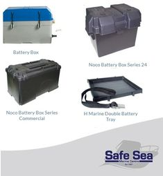 Need a battery box. look no further Safe Sea Shop is your destination. Boat Accessories, Tray, Box, Snare Drum, Trays, Boating Accessories, Board