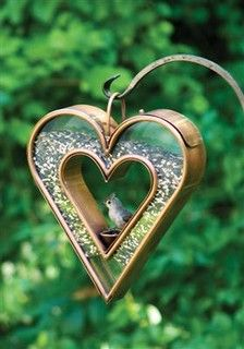 Heart Fly-Thru VB Feeder-113VB - traditional - birdhouses - other metro - by Walpole Outdoors