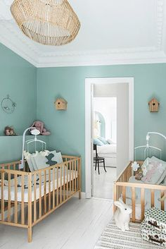 Fine Deco Chambre Jumeaux that you must know, You?re in good company if you?re looking for Deco Chambre Jumeaux Baby Bedroom, Baby Boy Rooms, Baby Room Decor, Baby Boy Nurseries, Girls Bedroom, Kid Bedrooms, Room Baby, Master Bedroom, Nursery Twins