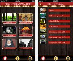 Manastirea Curtea de Arges este prezentata acum intr-o aplicatie pentru iPhone