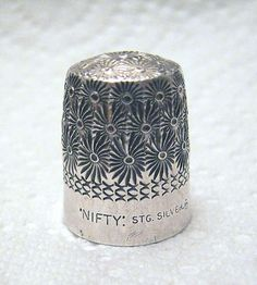 Australian Sterling Silver NIFTY Thimble
