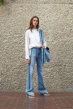 The Best Designer Jeans and Denim Dresses on the Spring '17 Runways