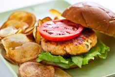 Salmon Burger Recipes + video on how to form patties