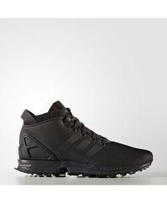 744db4e73 Adidas Zx Flux Mens Utility Black Shoes Adidas Zx Flux Black