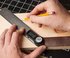 Digital #Protractor Take the Guesswork Out of Measurement Forever! #workspace