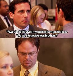 Hang your head in shame Dwight Us Office, The Office Show, Michael Scott Quotes, Office Jokes, Steve Carell, Stupid Funny Memes, Funny Shit, Parks N Rec, Best Shows Ever