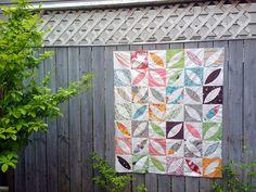 Flea Market Fancy Quilt by madeonmainstreet, via Flickr