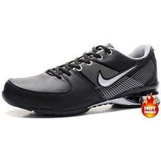 new styles ff56b c5121 http   www.asneakers4u.com  Mens Nike Shox R2 Black Grey