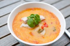 indisk kyllinggryte Thai Red Curry, Spicy, Ethnic Recipes
