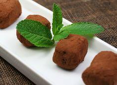 Trufas a la menta para #Mycook http://www.mycook.es/cocina/receta/trufas-a-la-menta