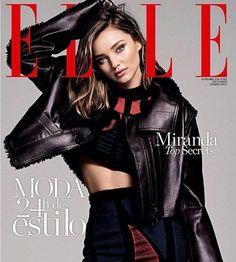 Miranda Kerr Stuns in Louis Vuitton for Elle Spain November 2016 Cover