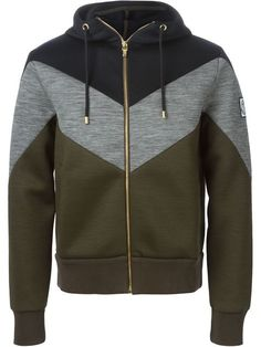 Moncler Gamme Bleu chevron pattern hoodie - that should be mine!