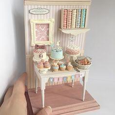 2017.11 Miniature Shabby Cakes By Noecoro