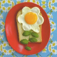 Sunny Side Up ~~ Houston Foodlovers Book Club Food Art For Kids, Cooking With Kids, Fun Cooking, Cooking Recipes, Cute Food, Good Food, Yummy Food, Food Decoration, Happy Foods