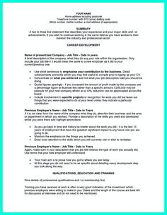 Chronological Resume Is Needed By People In Making Them Understand How To Write  Good Resume In