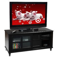 Convenience Concepts French County TV Stand - Black