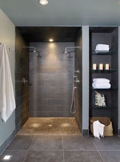 Bathroom Spa Bathroom Design Pictures Remodel Decor and Ideas - page 7 - i like the shelf idea