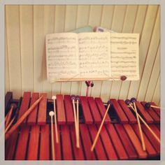 Music practise. #xylophone #marimba #percussion