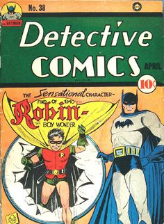 Detective Comics #38 (Digital Comic). First Appearance of the Boy Wonder!