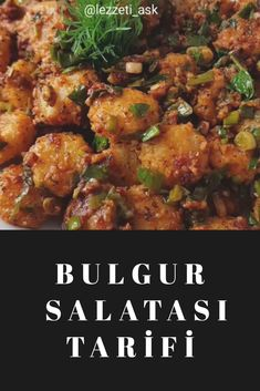 Bulgur Salatası Tarifi Chicken, Bulgur, Cubs, Kai