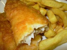 Fish on Friday ~ Real English Fish and Chips in Beer Batter « Lavender and Lovage