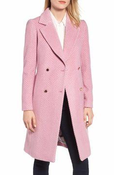 1cd0ef844 Chevron Wool   Cashmere Coat