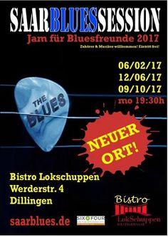 Blauer #Montag #im #Bistro #Lokschuppen DillingenSaarblues eV. & #Bistro #Musik #laden ... Blauer #Montag #im #Bistro #Lokschuppen DillingenSaarblues eV. & #Bistro #Musik #laden #ein #am 12. #Juni 2017 #zur #Jam #fuer Bluesfreunde #Beginn 19:30 #Uhr - #Eintritt #frei - Hut #geht #rum  #Bei schoenem #Wetter #auf #der #Bistro #Terrasse  #Fete #de #la #Musique #Mettlach   http://saar.city/?p=60245