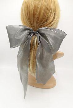 Hair Accessories For Women, Wedding Hair Accessories, Hair Ribbons, Hair Bows, Mesh Bows, French Hair, Hair Barrettes, Scrunchies