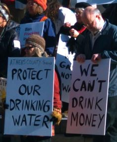 Our water is being privatized.