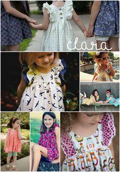 Clara set-Violette Field Threads