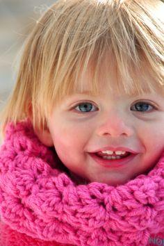 Aesthetic Nest: Crochet: Child's Sedge Stitch Cowl (Pattern)
