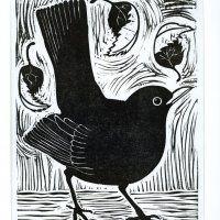 Lino Art, Woodcut Art, Linocut Prints, Art Prints, Art And Illustration, Vogel Illustration, Wood Engraving, Linoprint, Illustrator