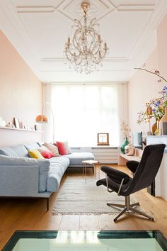 Retromantisch retro blog - Interior inspiration nude copper kroonluchter chandelier interieur koper romantisch vt wonen