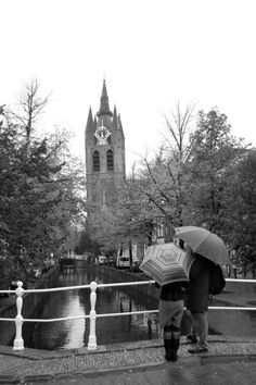 The bell tower of the Old Church is Delft's own 'leaning tower'.   Find out more about Delft at:    http://mikestravelguide.com/around-delft/